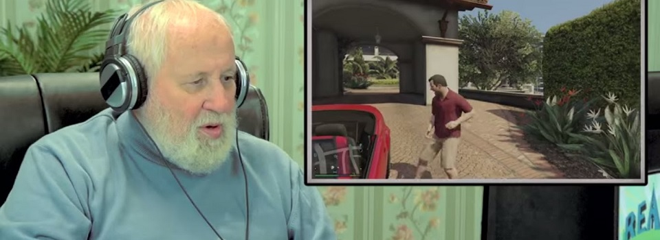 Watch the Elders' Reactions as They Play Grand Theft Auto 5