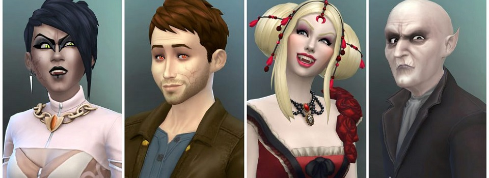 The Sims 4 Adds Vampires