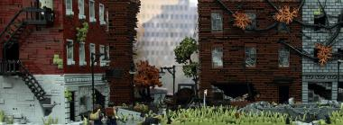 The Last of Us Gets Huge LEGO Diorama