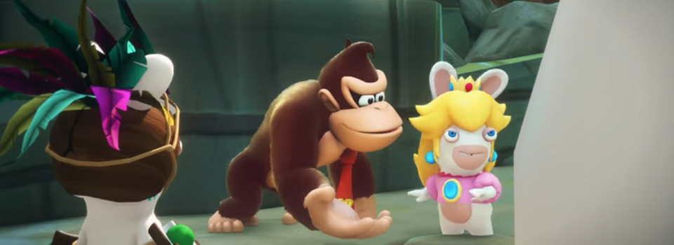 Donkey Kong is the Star of the Next Mario + Rabbids Kingdom Battle DLC