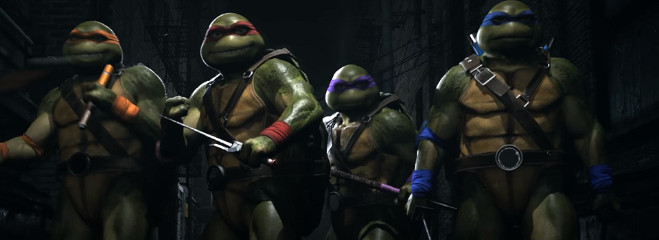 Teenage Mutant Ninja Turtles Make Their Way into Injustice 2