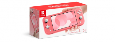Nintendo Unveils a Coral Pink Colored Switch Lite Console