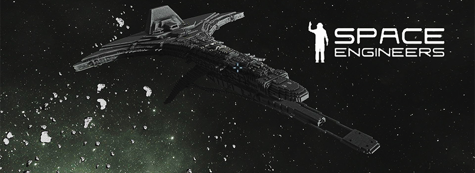 Space Engineers Stargate Universe Destiny & Seed Ship Rendezvous