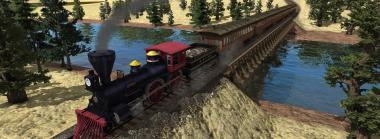 Train Fever's Free USA DLC Brings the 'Merican Flair to Trains