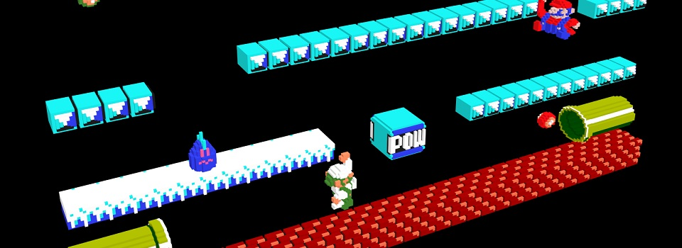 3DNES Browser Emulator Allows You to Play NES Games in 3D (Sort of)