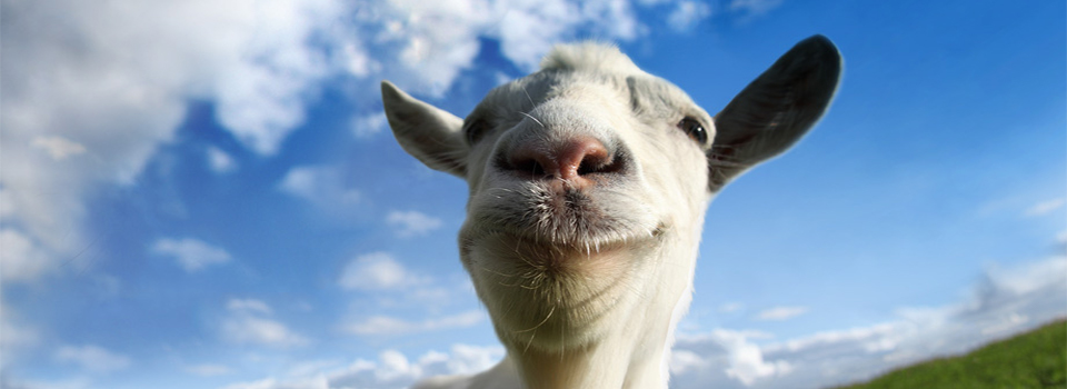 Goat Simulator Waste of Space DLC Launching on PS4