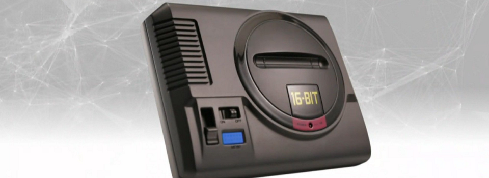 Sega Announces the Mega Drive Mini, a Throwback Console