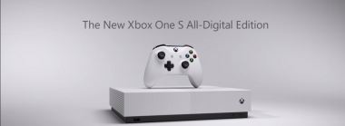 Xbox One S All Digital Edition Console, A Console Without A Disc Drive
