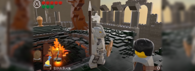 Dark Souls: Re-Bricked Builds Lordran from Legos