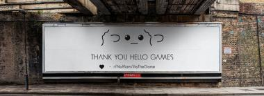 "Fans Say ""Thank You"" To Hello Games Via A Billboard Ad"