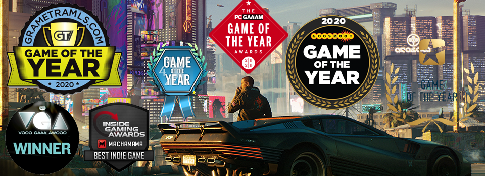 Games Awards 2020.Cyberpunk 2077 Wins The 2020 Game Of The Year Award