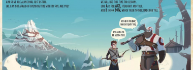 God of War: B is for Boy is an upcoming ABC Storybook
