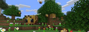 Big Fuzzy Bees are Coming to Minecraft
