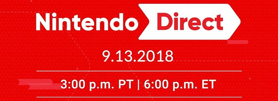 Watch the Nintendo Direct Live Stream Here!