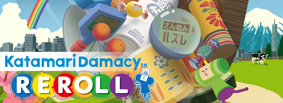 Katamari Damacy Reroll Brings the Franchise to Nintendo Switch and PC