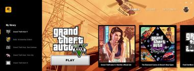 Rockstar Launches its Own PC Launcher