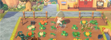 Farm Pumpkins and Collect Candy in an Animal Crossing New Horizons Fall Update