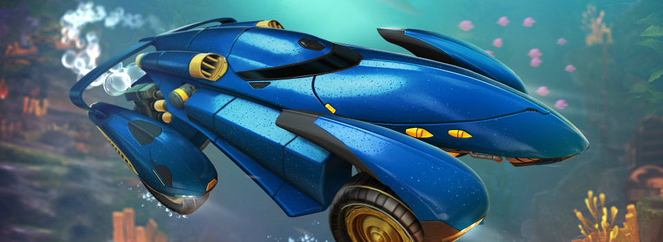 Rocket League Releases the AquaDome
