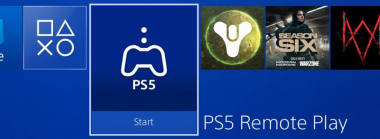 Sony Silently Releases PS5 Remote Play App for PS4