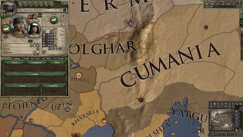 crusader kings ii s horse lords gallops to july 14 release gamerz
